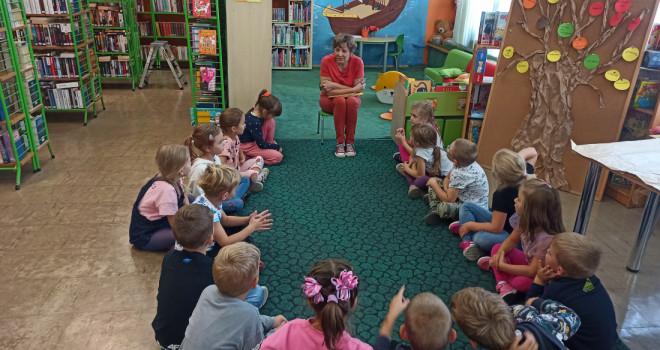 Wizyta w Bibliotece Miejskiej