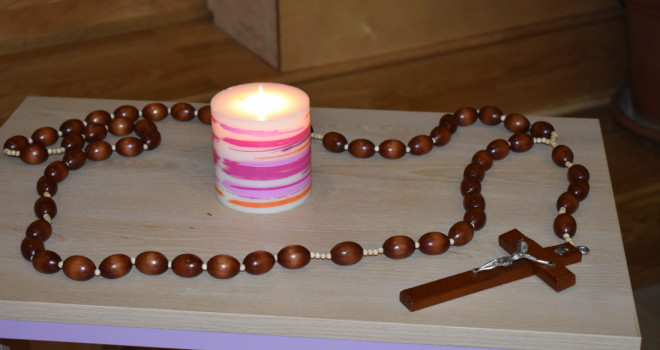 Wspólna modlitwa różańcowa